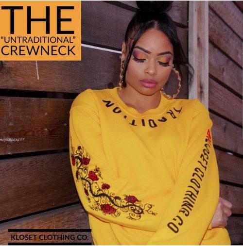 "The ""Untraditional"" Crewneck"